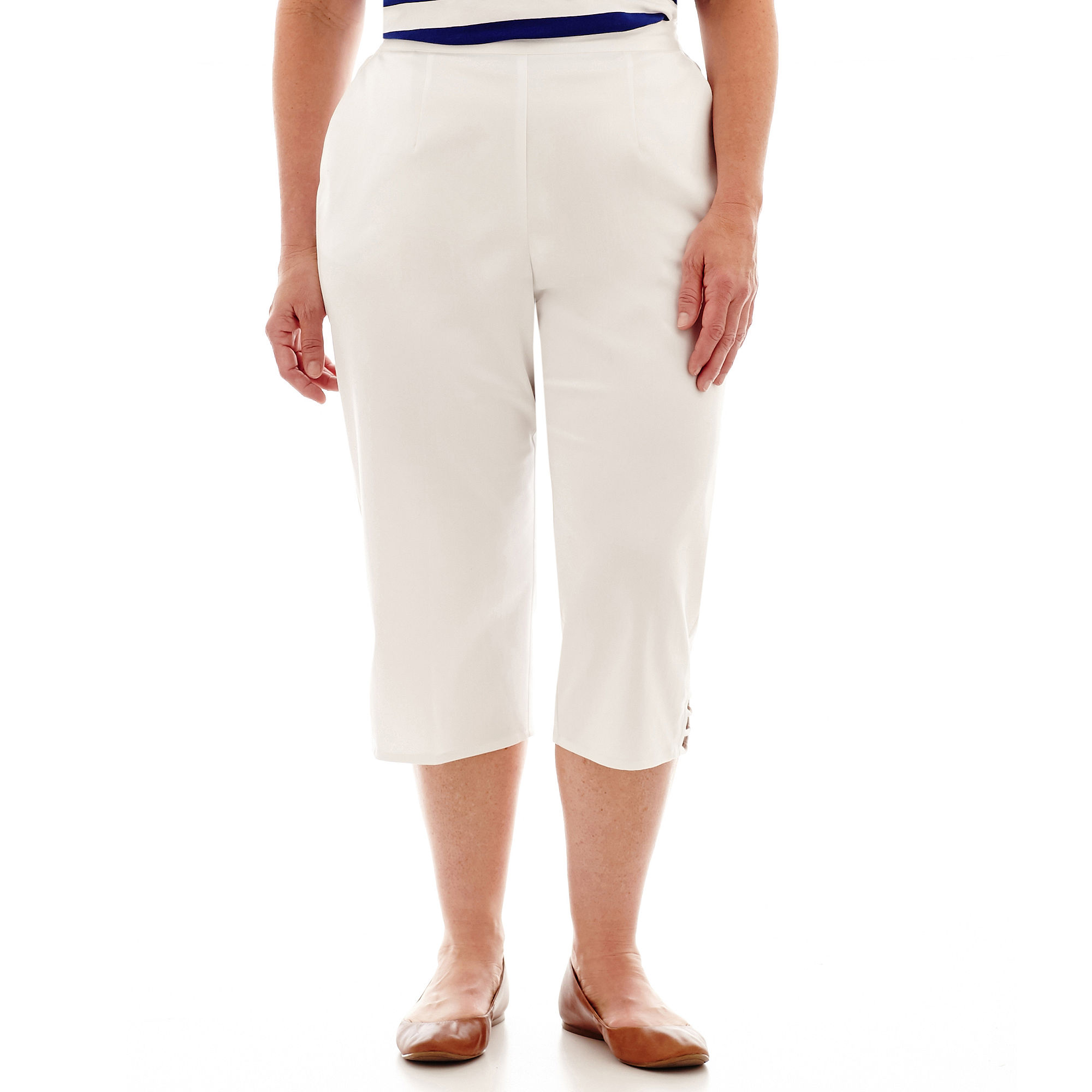 Alfred Dunner Catalina Island Pull-On Capris - Plus