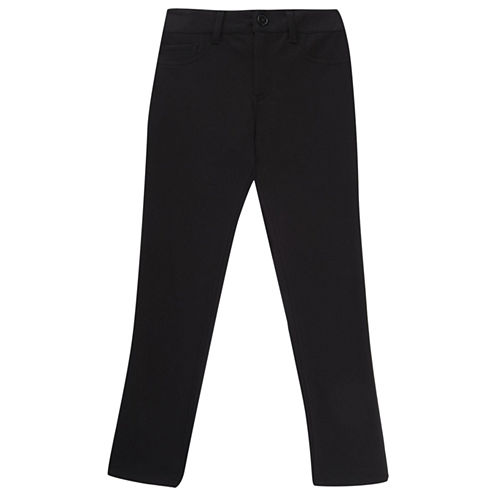 French Toast Flat Front Pants-Preschool Girls