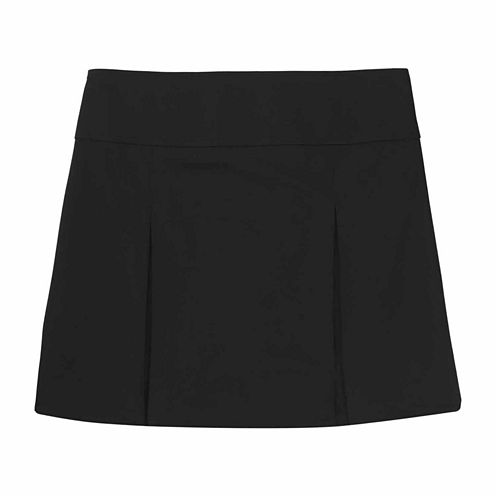 French Toast Pull-On Kick Pleat Scooter Scooter Skirt Girls