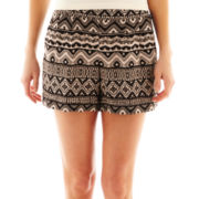 by&by®  Tribal Print Soft Shorts