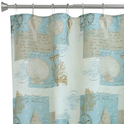 Bacova Coastal Moonlight Shower Curtain