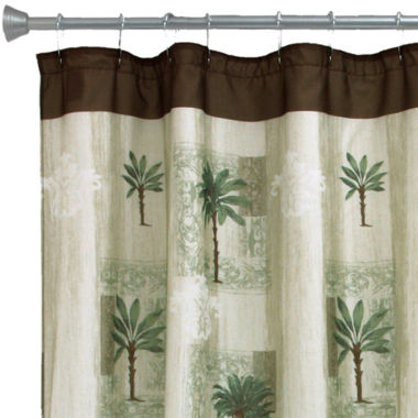 jcpenney.com | Bacova Citrus Palm Bath Shower Curtain