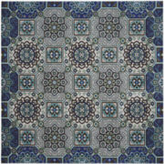 Mohawk Home® Mosaic Fountain Indoor/Outdoor Square Rug