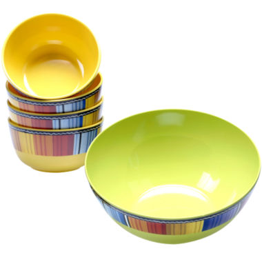 jcpenney.com | Certified International Serape Melamine 5-pc. Salad Set
