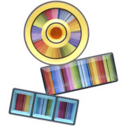 Certified International Serape Melamine 3-pc. Appetizer Set