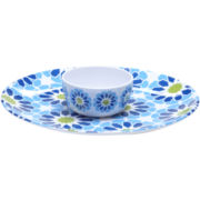 Certified International Mediterranean Melamine 2-pc. Chip and Dip Set