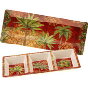 Sunset Palm 2-pc. Appetizer Set