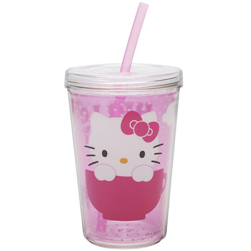 Zak Designs® Hello Kitty 13-oz. Tumbler with Straw