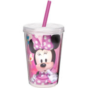 Zak Designs® Minnie Mouse 13-oz. Tumbler with Straw