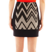 Worthington® Mixed Mini Pencil Skirt - Tall