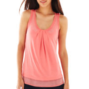 By Artisan Studded Tank Top - Petite
