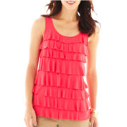 Liz Claiborne Tiered Tank Top