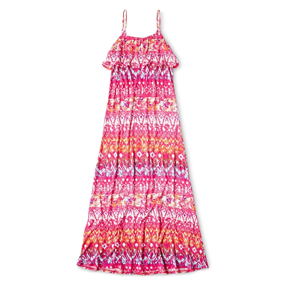 617087b205e JCPenney. ARIZONA Print Sleeveless Maxi Dress Girls 6 16 and Plus