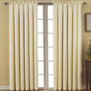 Eclipse® Canova Rod-Pocket Blackout Curtain Panel