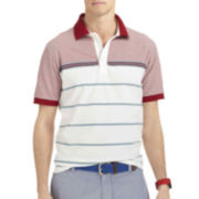 IZOD® Engineered Stripe Jersey Polo