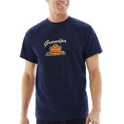 Grandpa Embroidered Short-Sleeve Tee