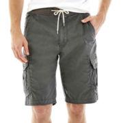 UNIONBAY® Knit-Waist Cargo Shorts