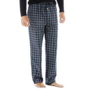 Stafford®  Woven Pajama Pants–Big & Tall