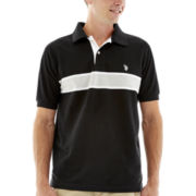 U.S. Polo Assn.® Engineer-Stripe Polo