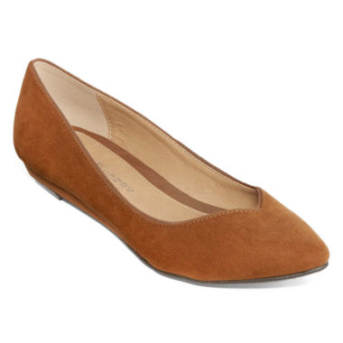 jcpenney.com | CL by Laundry Starie Pointed-Toe Ballet Flats