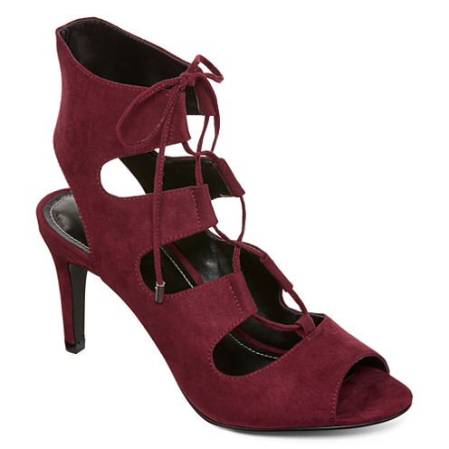 Style Charles Zita Lace-Up Pumps