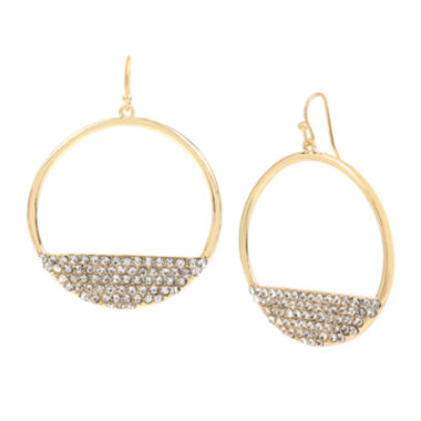jcpenney.com | Worthington® Circle Drop Earrings