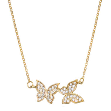 jcpenney.com | Mixit™ Gold-Tone Delicate Butterfly Necklace