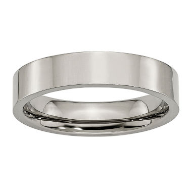 jcpenney.com | Mens 5Mm Titanium Wedding Band