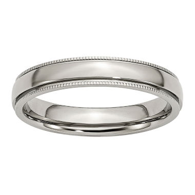jcpenney.com | Mens 4Mm Stainless Steel Wedding Band
