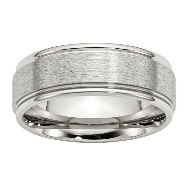 jcpenney.com | Mens 8Mm Stainless Steel Wedding Band