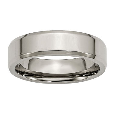 jcpenney.com | Mens 6mm Titanium Wedding Band