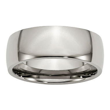 jcpenney.com | Mens 8Mm Titanium Wedding Band