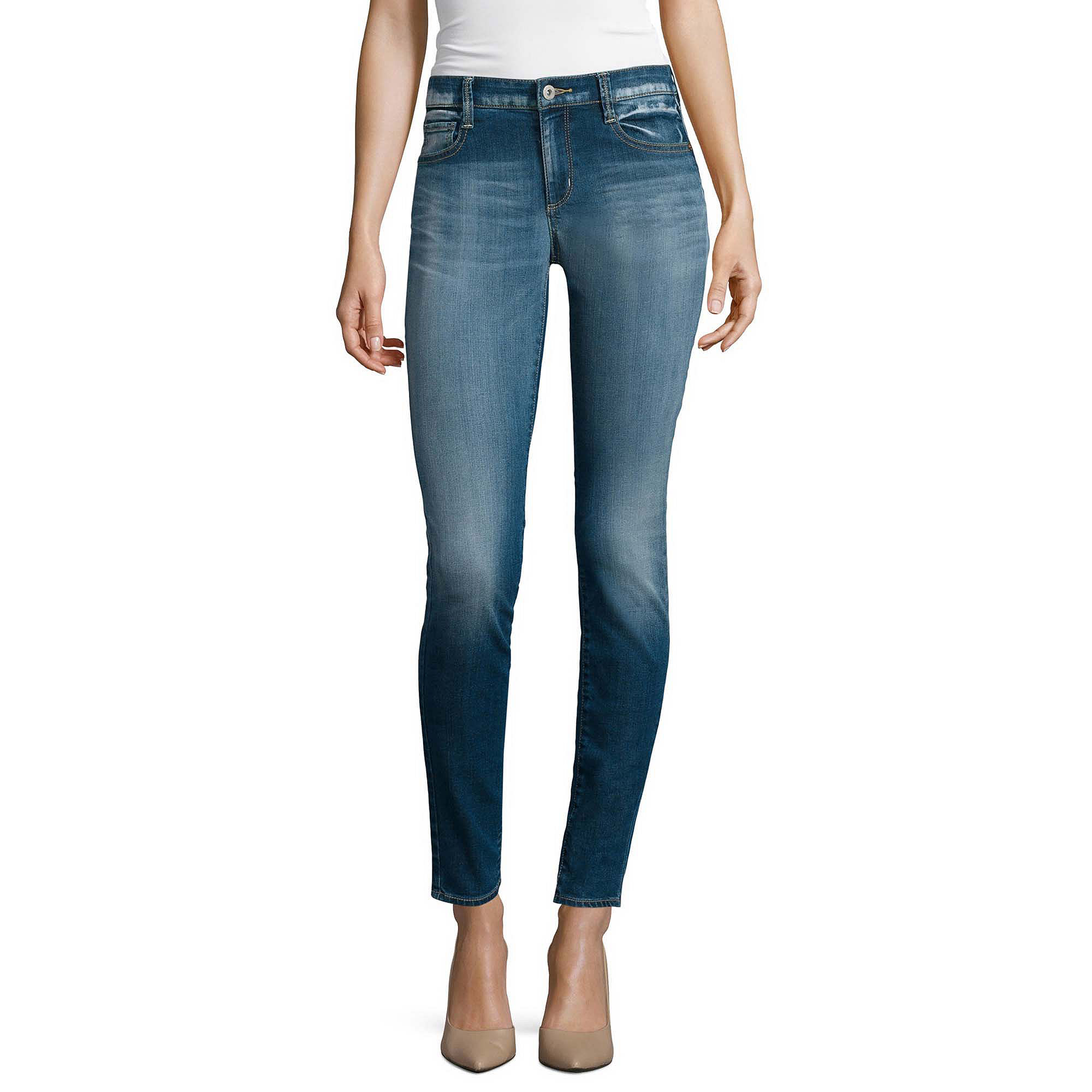 Arizona Curvy Skinny Jeans - Juniors