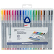 Staedtler 20-pk. Fineliner Pens