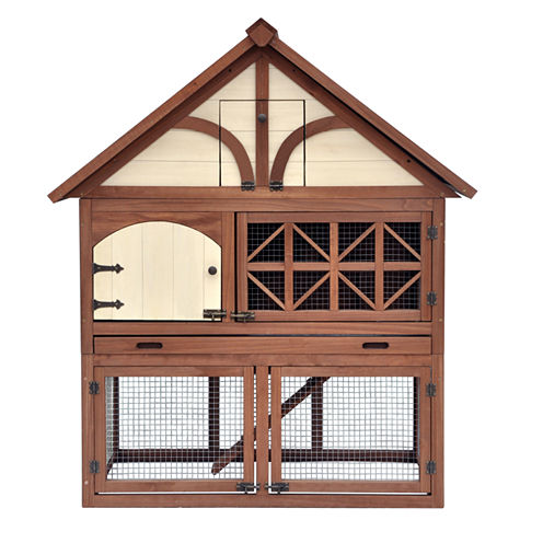 Zoovilla™ Tudor Rabbit Hutch