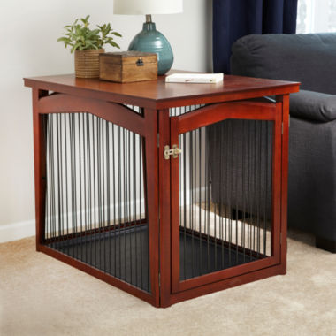 jcpenney.com | Zoovilla™ 2-in-1 Configurable Pet Crate and Gate