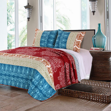 jcpenney.com | Greenland Home Fashion Kianna Quilt Set