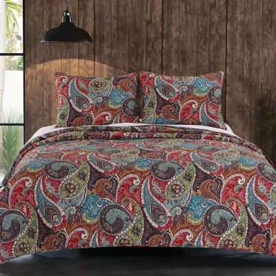 greenland home fashion tivoli quilt set - Greenland Home Fashions