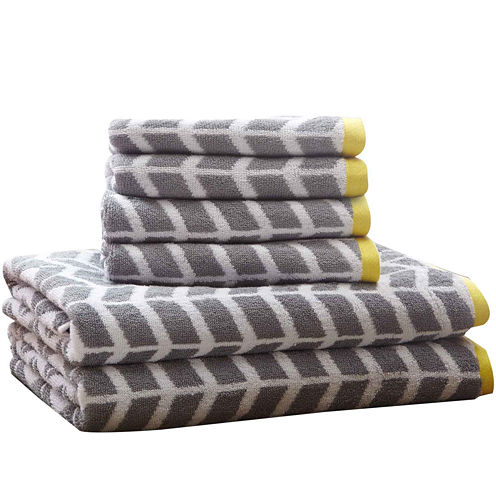 Intelligent Design Elle 6-pc. Towel Set