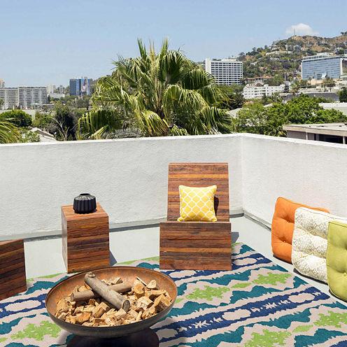 Feizy Rugs® Coastal Indoor/Outdoor Rectangular Rug