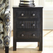Signature Design by Ashley® Charlowe 3-Drawer Nightstand