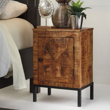 jcpenney.com | Signature Design by Ashley® Charlowe Mixed Material Nightstand