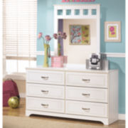 Signature Design by Ashley® Lulu Dresser with Mirror