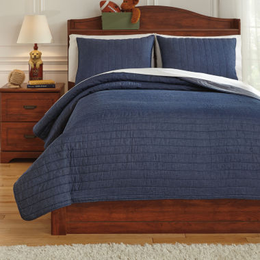 jcpenney.com | Signature Design By Ashley 3-pc. Quilt Set