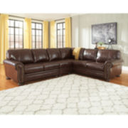 Signature Design by Ashley® Banner 3-pc Sectional