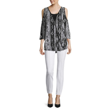 jcpenney.com | nicole by Nicole Miller® Surplus Top or Ankle Pants