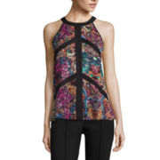 nicole by Nicole Miller® Sleeveless Colorblock Top