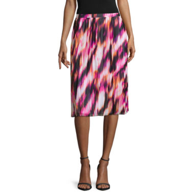 jcpenney.com | Worthington® Pleated Midi Skirt - Tall