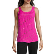 Worthington® Grommet Tank Top