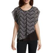 Alyx® Short-Sleeve Popover Blouse